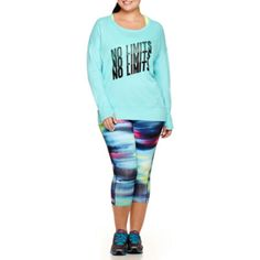 Plus Size Workout Clothes & Activewear - JCPenney