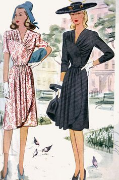 Vintage 40s Sewing Pattern McCall 4779 Best by sandritocat on Etsy, $38.00