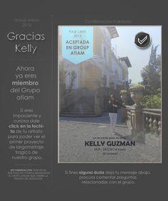 Kelly confirmacion