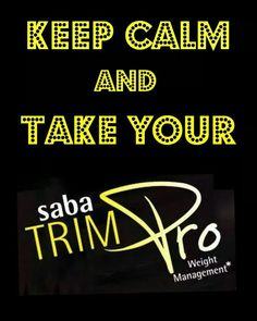 Saba Trim Pro our newly released supplement that was sold out within three days! www.sabaforlife.com/carmenharo