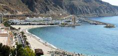 Playa Aguadulce en Roquetas de Mar (Almería)