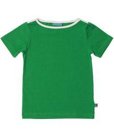 Froy & Dind cool green T-shirt with white details. froy-en-dind.en.emilea.be