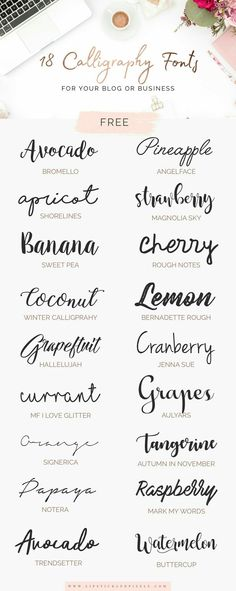 Art journals 520376931941110709 - 18 free fonts for logo design, signatu . - Art journals 520376931941110709 – 18 free fonts for logo design, signatures or any other graphic - Logo Monogramme, Inspiration Typographie, Blog Logo, Cool Fonts, Fun Fonts, Artsy Fonts, Simple Fonts, Type Fonts, Awesome Fonts