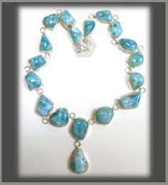 Larimar; la perla del caribe. http://gruponale.com/articulos/001/00004/larimar/collares/