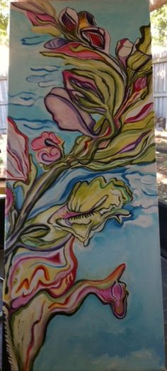 Fabulous Artwork, titled Spring Excitement, by Leah Venturello of Orlando, FL