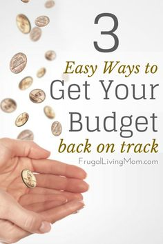We've all been there—a big holiday or birthday sneaks up on us, we spend a little more than we should, and suddenly our budget is off track. Oops! Instead of throwing in the towel and giving up on your carefully constructed budget, reroute and get your budget back on track right away.