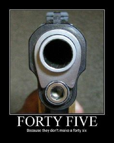 Forty five