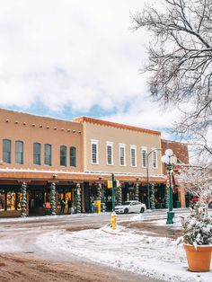Warm Up in the Southwest: Why You Should Visit Santa Fe in the Winter Sante Fe New Mexico, New Mexico Santa Fe, Chocolate House, Visit Santa, Canyon Road, New Mexican, Fes, Installation Art, Places To Visit