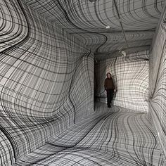Marvelous This is amazing How simple lines transform what you see experience Room