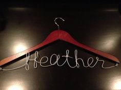 Bridesmaid Hanger by CookiesInDetail on Etsy, $18.00