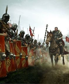 Roman General Before Battle