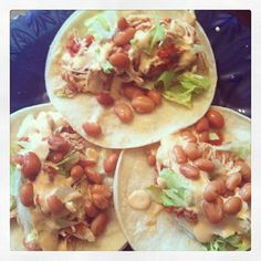 Chicken Chipotle Tacos #chipotle #mexicanfood