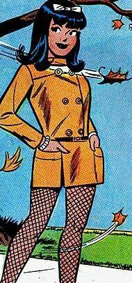 Veronica Lodge *Veronica always had cuter clothes than Betty, I'm afraid.  #Illustrations #Comics #Art