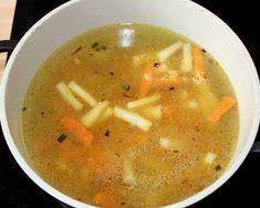 Sajtgombóc leves | Alajuli receptje - Cookpad receptek Cheeseburger Chowder, Soup, Ethnic Recipes, Soups