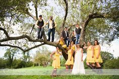 Fun wedding party shot, Turnquist Photography