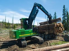 John Deere Construction Equipment, John Deere Forestry Machinery