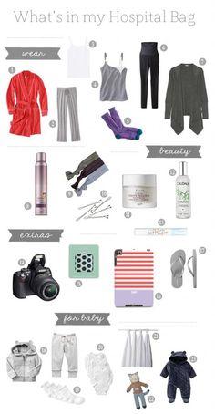 1. robe, 2. comfy pants, 3. white tanks, 4. Nursing tank, 5. socks, 6. Target maternity ponte pants, 7. Layering sweater, 8. Pureology dry shampoo, 9.&...