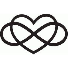 Silhouette Design Store - View Design #66595: love forever
