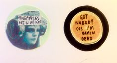 Glass animals badges. Ideal handmade personalised Christmas gift. Favourite song or movie quotes. Cute, individual, quirky collages.