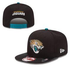 284a68757 Men s New Era Black Jacksonville Jaguars 2015 NFL Draft Original Fit 9FIFTY  Adjustable Hat