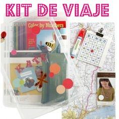 Viajar con niños: Kit de viaje