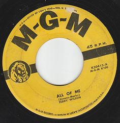 "45vinylrecord All Of Me/You're My Favorite Memory (7""/45 rpm) MGM http://www.amazon.com/dp/B01372ET22/ref=cm_sw_r_pi_dp_bpMVvb0DK1M8B"
