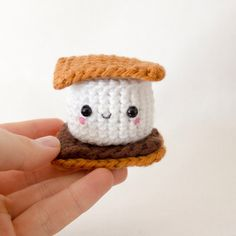 Crochet Plush S'more Toy for Kids s'more love by whimsyloveswit, $12.00