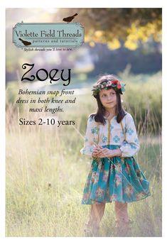 Zoey de Violette Field Threads de 2 à 10 ans