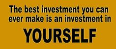 EBUBE NWABUKO QUOTES: INVEST IN YOURSELF