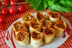 IL LABORATORIO DI MM_SKG: FINGERFOOD ΚΙΜΑΔΟΠΙΤΑΚΙΑ ♦♦ FINGERFOOD ROTOLINI DI CARNE TRΙTA IN PASTA FILLO
