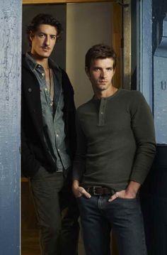 Lucas Bryant and Eric Balfour, the 'Haven' boys.