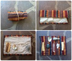 Large Ceremonial Travel Altar Kit: Andean fabrics with palo santo, sage and selenite// free shipping, ceremony, smudge, smudging / Spirit Tribe / Sacred Spaces <3