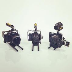 The ELEMENTS cages for the #a7S, #GH4, and #Blackmagic Pocket Cinema Camera are coming soon. Keep an eye out! #productionequipment #filmmakers #filmmaking #cinema
