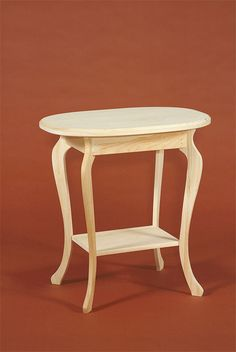 Great little oval table Unfinished Pine Furniture, Diy Pallet Furniture, Furniture Projects, Table Furniture, Furniture Styles, Furniture Design, Wood Joinery, Oval Table, Cabinet Makers