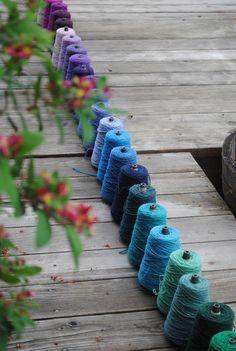 Harrisville Highland yarn