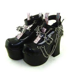 Foreign factories making Lolita lolita high-heeled shoes Women