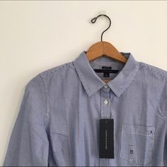 NWT Stripe Button Down NWT Tommy Hilfiger Tops Button Down Shirts
