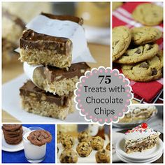The Kitchen is My Playground: 75 Scrumptious Treats with Chocolate Chips {Playground Round-Up}