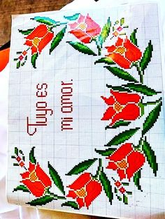 Create A Board, Cross Stitch, Mary, Tulips, Mariana, Beanie Babies, Napkins, Table Toppers, Beaded Cross Stitch