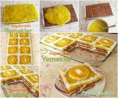 portakallı bisküvili pasta Trifle, Cobbler, Tart, Waffles, French Toast, Deserts, Beverages, Cooking Recipes, Sweets