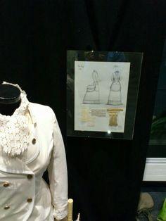 Estudo para vestiario S. XIX