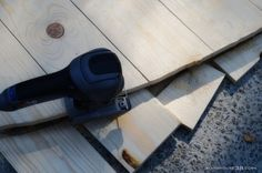 Cutting the Arched Headboard from Farmhouse38