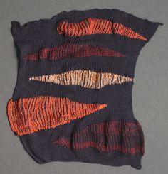 Machine knitting samples- really good