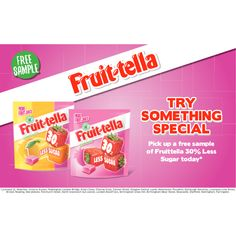 FREE Fruit-tella Sweets TODAY ONLY - Gratisfaction UK