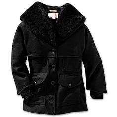 Filson Women's Wool Packer Coat - Black