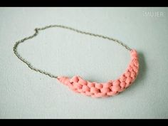 Collares de macramé - YouTube