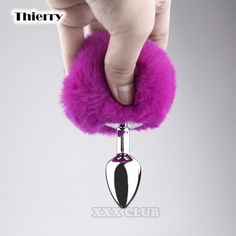 Thierry Sexy rabbit Tail Anal Plug Metal butt Plug Sexy Toys for Female Adult Products for roleplay cosplay adult games Prostate Massage, Dildo, Plugs, Faux Fur, Rabbit, Drop Earrings, Personalized Items, Crystals, Stainless Steel