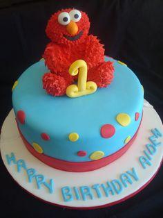 first birthday ideas | Elmo Cake
