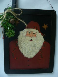 Hey, I found this really awesome Etsy listing at https://www.etsy.com/listing/216081902/rustic-santa-sign