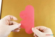 Make a Pop-Up Heart Rainbow Card - Jennifer Maker Heart Pop Up Card, Pop Up Card Templates, Rainbow Card, Heart Crafts, Art N Craft, Valentine Crafts, Valentines, Pop Up Cards, Diy Cards